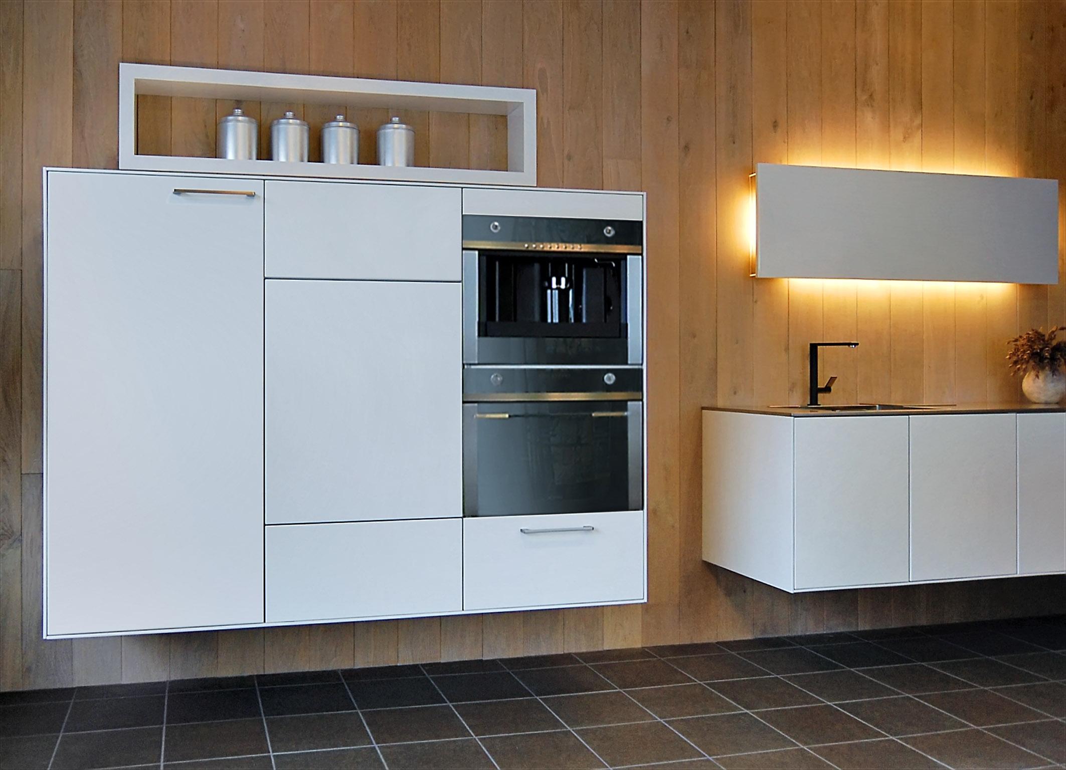 Zwevende Open Keuken : Keukens hl keukens en kasten
