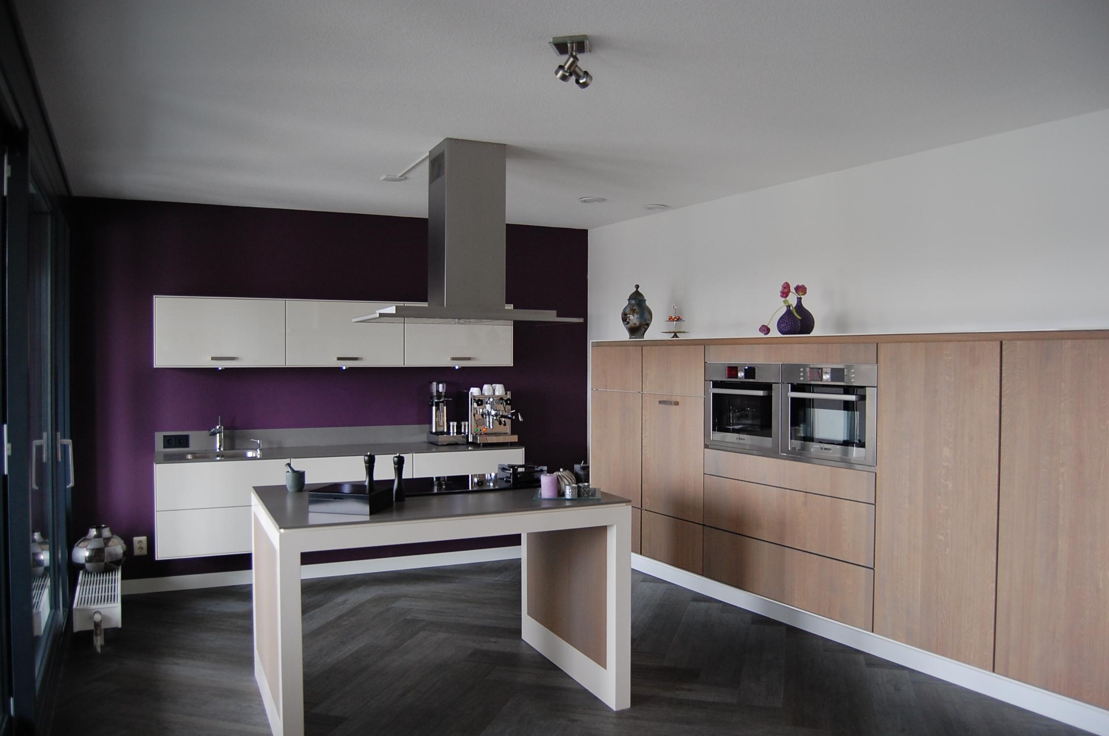 Keukens hl keukens en kasten - Hoe dicht een open keuken ...